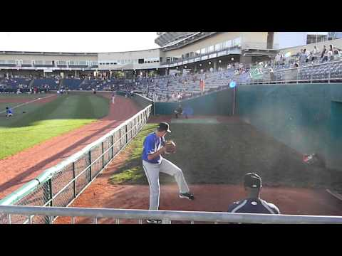 Orioles Top Draft Pick Kevin Gausman Throwing A Bullpen 8/6/12 HD