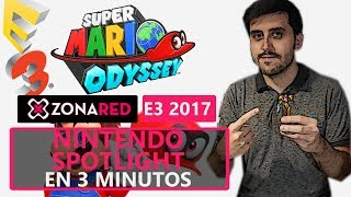 Nintendo E3 2017 en 3 minutos: METROID,  Pokémon RPG en Switch, Mario Odyssey,... - Resumen