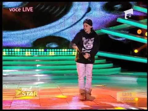 Oscar, compoziţie proprie de rap, în Finala de Popularitate Next Star!