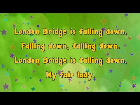 Karaoke - London Bridge is Falling Down | Karaoke Rhymes