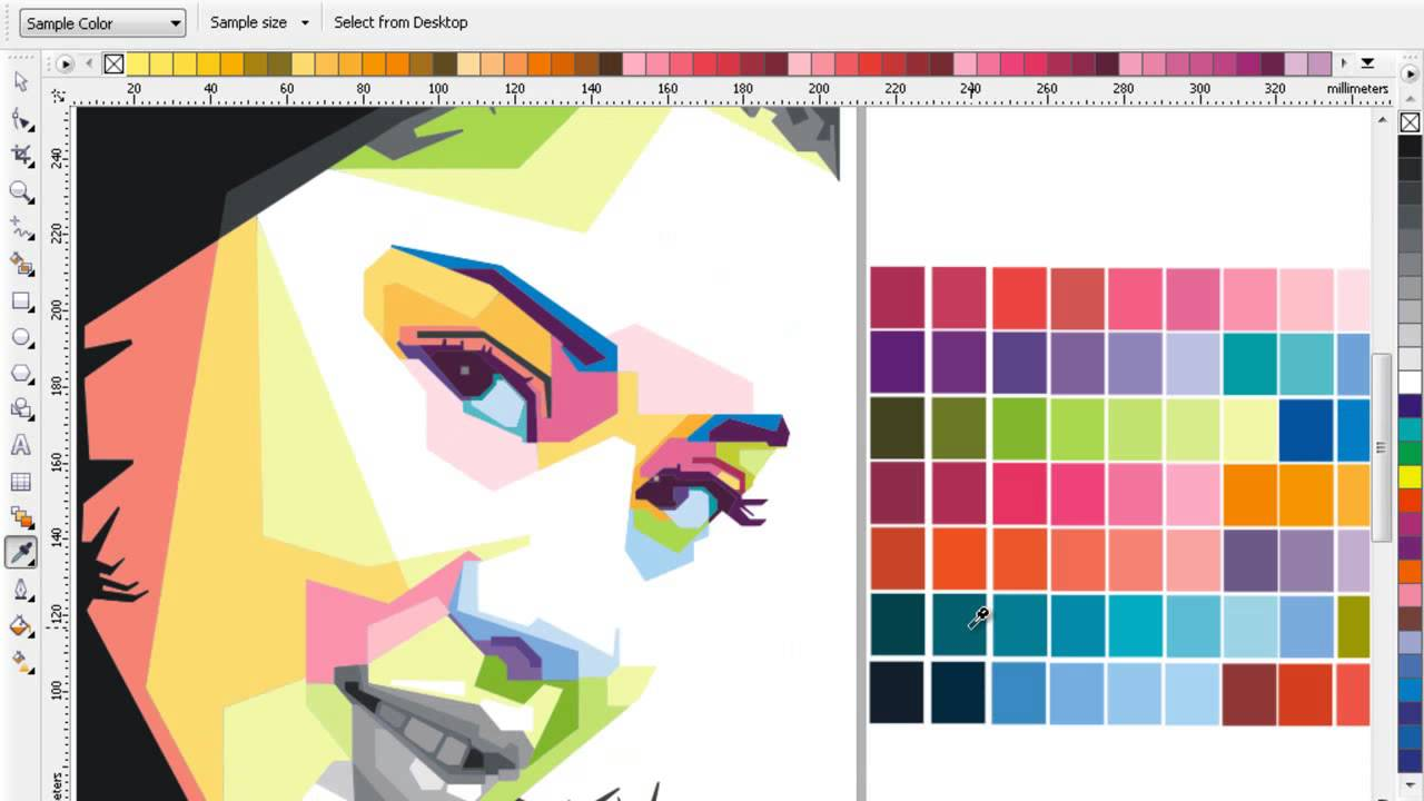 TUTORIAL PROSES COLOR DIAN SASTRO MAKE WPAP - YouTube