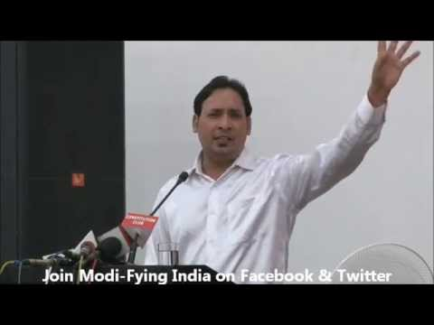 Suresh Albela Poetry For Narendra Modi In Modi-fying India's Concert video