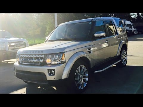 2016 Land Rover LR4 HSE Luxury Full Review, Start Up, Exhaust