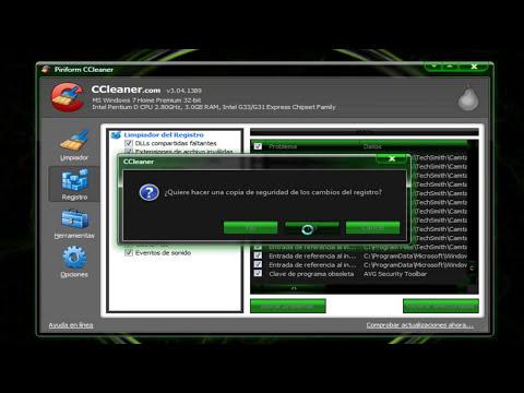 COMO LIMPIAR TU PC remover virus y optimizarla 1parte