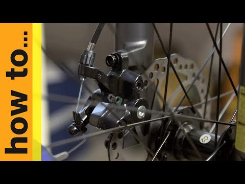 How To... Adjust Mechanical Disc Brakes