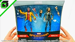 New SPIDER-MAN Homecoming MARVEL LEGENDS 2 pack by HASBRO!!!