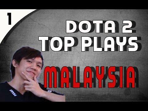 DOTA 2 Top Plays Malaysia - Ep.1