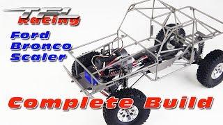Tfl Racing  Ford Bronco 1 10th Size Scaler  Crawler  Full Build