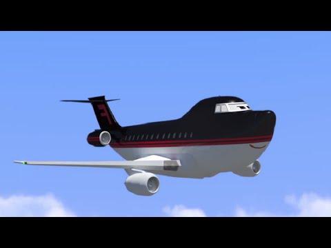 Мультфильмы - Будни аэропорта - Не будь жадиной, Тайфун (53 серия)