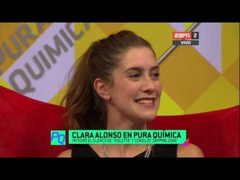 Clara Alonso en Pura Química - ESPN