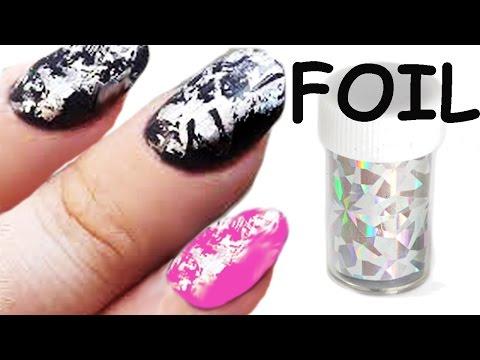Nail Art: Come applicare i FOIL per Unghie