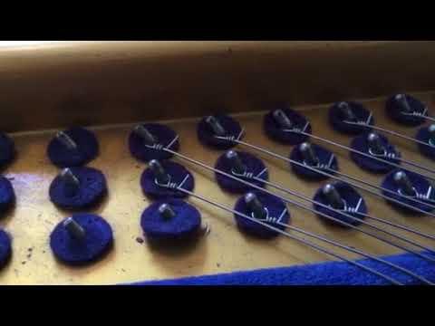Техника накладывания одиночных струн