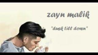 ZAYN ‒ Dusk Till Dawn (Lyrics / Lyrics Video) ft. Sia