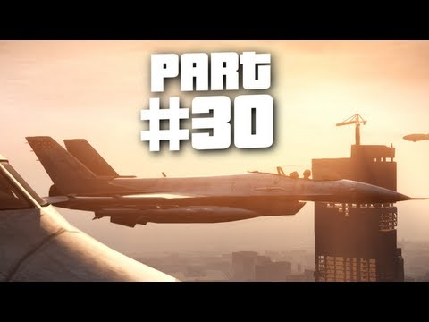 Grand Theft Auto 5 Gameplay Walkthrough Part 30 - Fighter Jet Rage (GTA 5)
