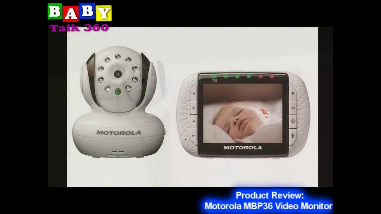 motorola baby video monitor mbp36 product review baby monitor youtube. Black Bedroom Furniture Sets. Home Design Ideas