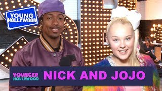 Nick Cannon & JoJo Siwa: Backstage Tour of the Shorties!