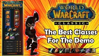 My Experience Playing Every Class in the Classic WoW Demo