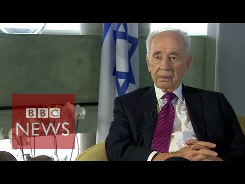 Gaza Crisis: 'Hamas are against peace' says Shimon Peres - BBC News