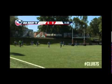 2014 Club 7s - Mana Wahine vs. Sacramento Amazons