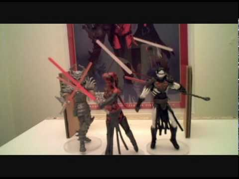 Darth Krayt vs Darth Talon Darth Krayt / Talon / Nihl