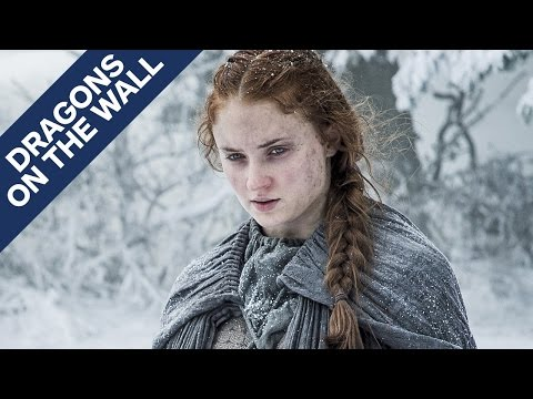 Game of Thrones - Where Sansa's Story Could Be Headed - Dragons on the Wall