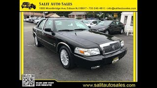 Salit Auto Sales - 2010 Mercury Grand Marquis LS Ultimate Presidential Edition in Edison, NJ