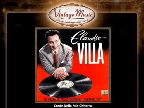 Corde della mia chitarra claudio villa music and video for Planimetrie della mia villa