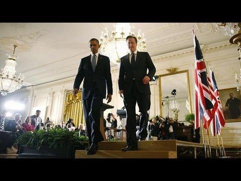 Cameron and Obama discuss EU and Syria