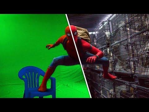 5 новых фильмов до и после спецэффектов