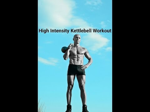Full body extreme kettlebells interval workout: routine 4 Image 1