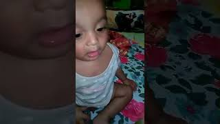 Cute baby funny video....