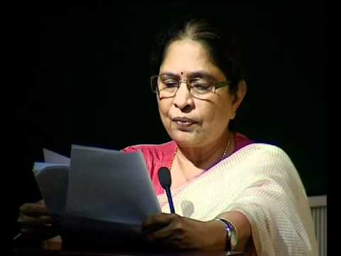 Prof. Shantha Sinha, Chairperson, NCPCR, Govt of India