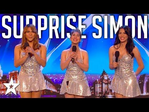 Girl Group SURPRISE Simon Singing Sex Bomb on Britain's Got Talent | Got Talent Global