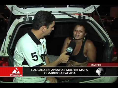 CANSADA DE APANHAR: MULHER MATA O MARIDO A FACADA