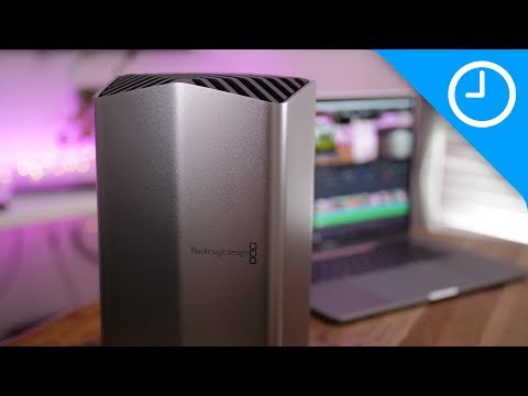 Review: Blackmagic eGPU for MacBook Pro - beautiful and quiet!