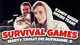 Meine Katze TROLLT die AUFNAHME :D ★ Minecraft: SURVIVAL GAMES | Herr Bergmann