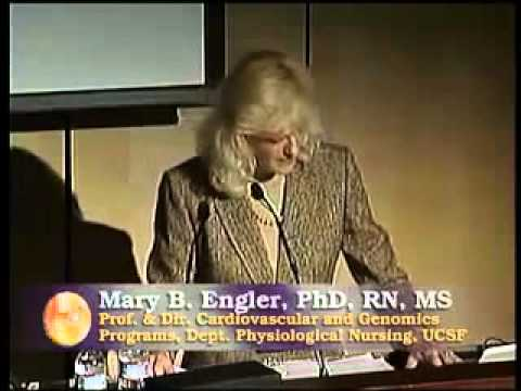 Lecture chocolate | Prof. Dr . Mary B.Engler,PhD,RN,MS,FAHA | Part 3/6