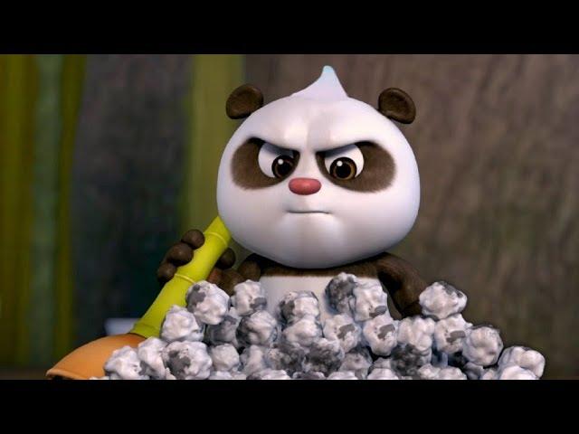 Кротик и Панда - Уроки рисования  - серия 49- развивающий мультфильм для детей