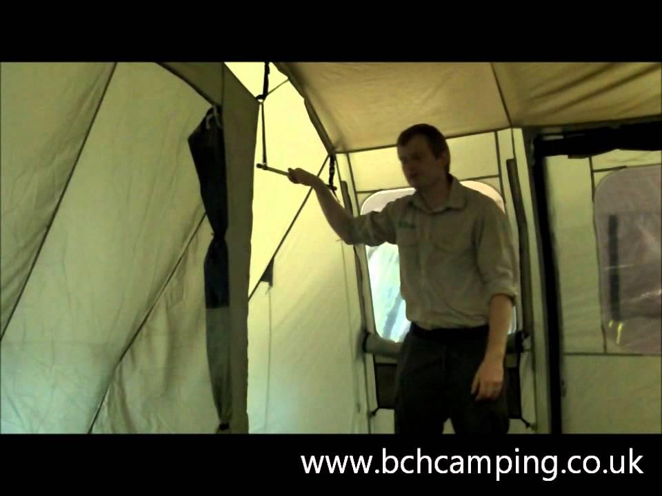 Coleman Mackenzie Cabin 6 - www.bchcamping.co.uk - YouTube