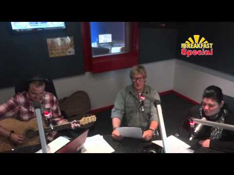 Unplugged on The Breakfast Special - Corlea and Jannie Moolman (Country Roads Cover))