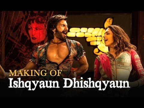 Ishqyaun Dhishqyaun Song Making - Goliyon Ki Raasleela Ram-leela video