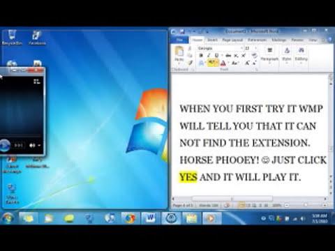 Play FLV on Windows Media Player