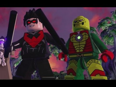 Lego Batman 3 Beyond Gotham Nightwing Lego Batman 3 Nightwing