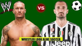 WWE WRESTLERS Who Look Alike Football Soccer Players 2019 - Randy Orton, Roman Reigns