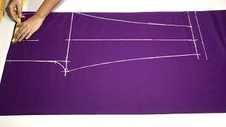 New Fashion Ladies Pants (Cigarette Palazzo) cutting and stitching