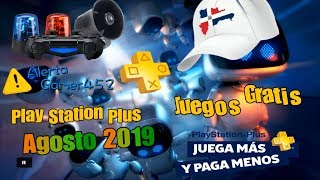 Juegos GRATIS Play Station Plus Agosto 2019 Alerta Gamers 452