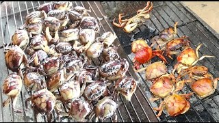 Amazing Smart Boy Cook Crab For Dinner - How To Cook Crab In Cambodia