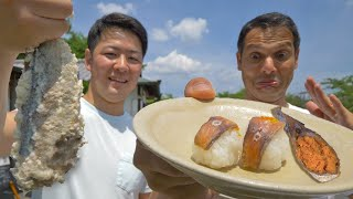 Stinky Sushi Eating Challenge: One Year in a Bucket ★ ONLY in JAPAN