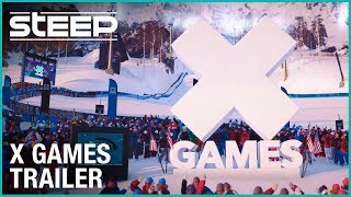 Steep X Games DLC Announcement Trailer | Ubisoft [NA]
