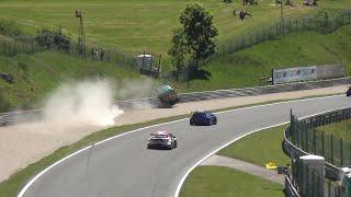 Rob Huff huge crash TCR Salzburgring
